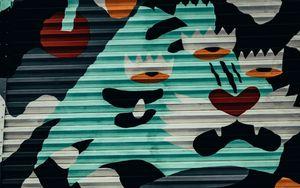Preview wallpaper graffiti, street art, wall, paint