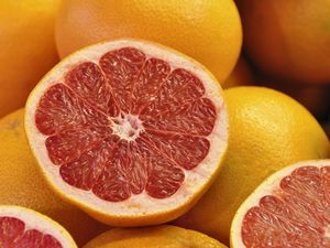 Preview wallpaper grapefruit, citrus, fruit, yellow