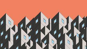 Preview wallpaper graphics, building, shape, symmetry