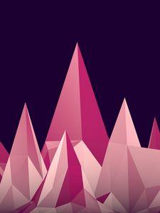 Preview wallpaper graphics, low poly, digital art, minimalism