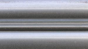 Preview wallpaper gray, iron, stripes, texture