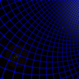 Preview wallpaper grid, blue, black, futuristic