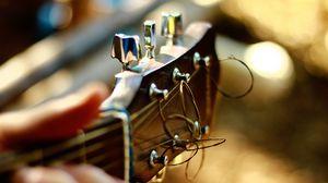 Preview wallpaper guitar, fingerboard, strings