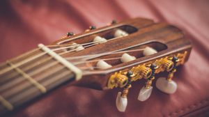 Preview wallpaper guitar, fretboard, strings