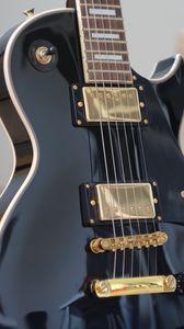 Preview wallpaper guitar, fretboard, strings, musical instrument