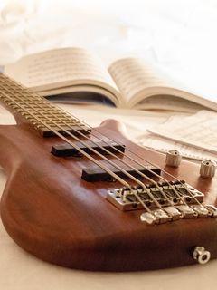 240x320 Wallpaper guitar, music, strings, musical instrument