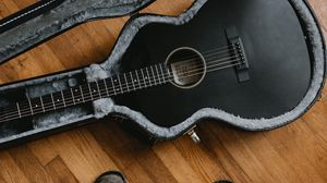 Preview wallpaper guitar, musical instrument, boots