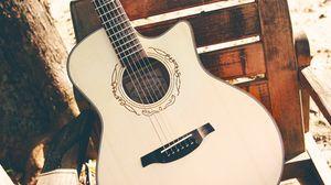 Preview wallpaper guitar, strings, musical instrument