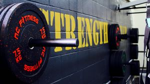 Preview wallpaper gym, disks, weight, bodybuilding