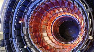 Preview wallpaper hadron collider, accelerator, particles