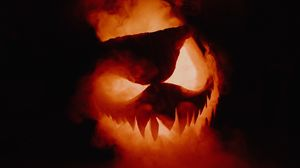 Preview wallpaper halloween, pumpkin, smoke