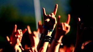Preview wallpaper hands, gesture, music, concert
