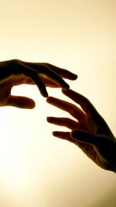 Preview wallpaper hands, pair, touch