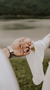 Preview wallpaper hands, wedding, love, ring