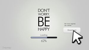 Preview wallpaper happiness, loading, happy