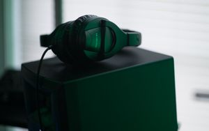 Preview wallpaper headphones, music, audio