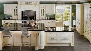 Preview wallpaper headsets, doors, interior, kitchen, chandelier, table, chairs, cupboards
