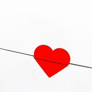 Preview wallpaper heart, love, envelope, red