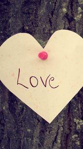 Preview wallpaper heart, love, tree, feeling