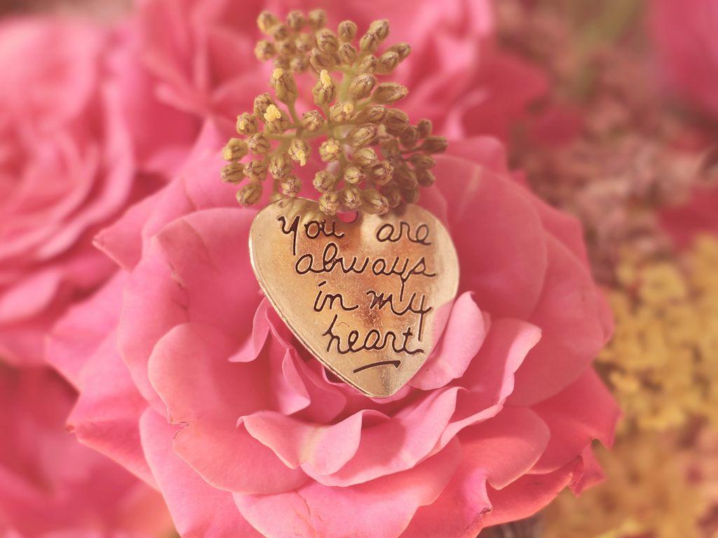 1024x768 Wallpaper heart, pendant, love, inscription, confession, romance