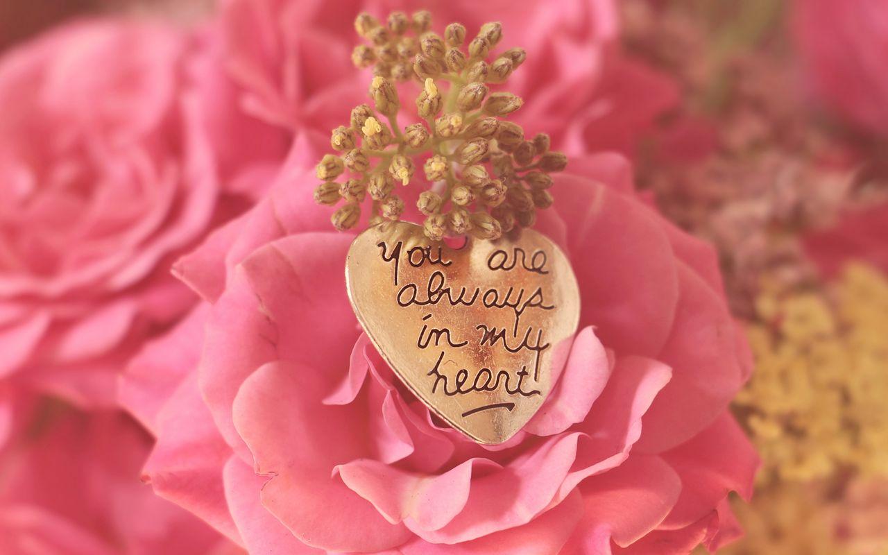 1280x800 Wallpaper heart, pendant, love, inscription, confession, romance