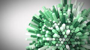 Preview wallpaper hexagon, honeycomb, volume, 3d