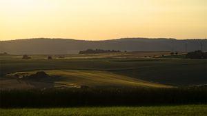 Preview wallpaper hill, grass, field, open space, sky