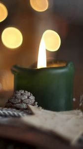 Preview wallpaper holiday, candles, background