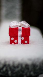 Preview wallpaper holiday, gift, box