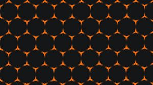 Preview wallpaper honeycomb, cell, structure, texture, dark