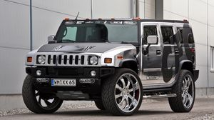 Preview wallpaper hummer, h2, cfc, side view