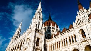 Preview wallpaper hungary, budapest, parliament, architecture