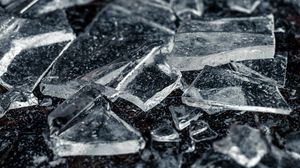 Preview wallpaper ice, shards, macro, transparent