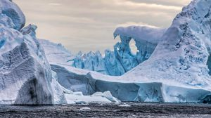 Preview wallpaper iceberg, glacier, ice, antarctica