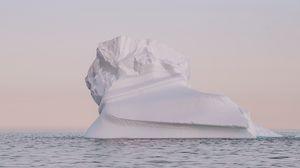 Preview wallpaper iceberg, snow, arctic, twilight