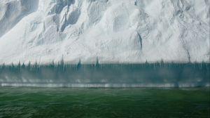 Preview wallpaper iceberg, snow, ice, water, antarctica