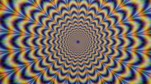 Preview wallpaper illusion, psychedelic, colorful, art