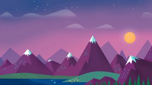 Preview mountains