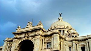 Preview wallpaper india, roof, architecture, sky