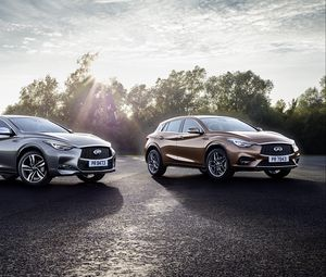 Preview wallpaper infiniti, q30s, side view, style