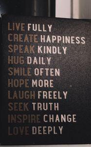 Preview wallpaper inscription, motivation, poster