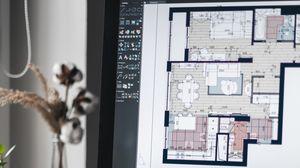 Preview wallpaper interior design, macbook, phone