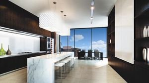 Preview wallpaper interior, design, style, city, apartment, dining room, kitchen