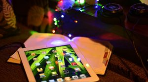 Preview wallpaper ipad, holiday, light, new year