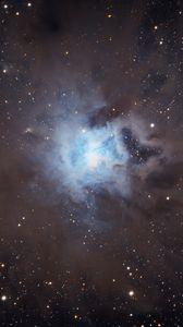 Preview wallpaper iris nebula, nebula, glow, stars, space