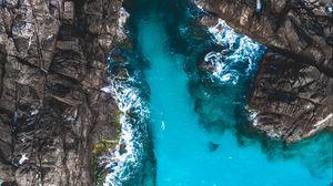 Preview wallpaper island, top view, ocean, perhentian islands, malaysia