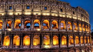 Preview wallpaper italy, rome, colosseum, architecture