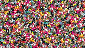 Preview wallpaper jdm, background, style, sticker, texture