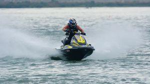Preview wallpaper jet ski, water, spray