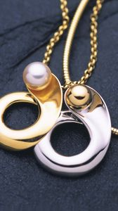 Preview wallpaper jewelry, platinum, gold